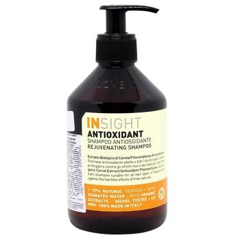 Шампунь Insight Antioxidant тонизирующий для всех типов волос 400мл