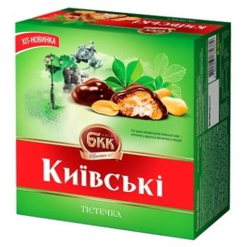 Пирожные БКК Киевские 200г - купить, цены на ЕКО Маркет - фото 1