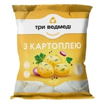Three Bears Frozen With Potatoes Vareniki - buy, prices for EKO Market - photo 1