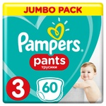 Підгузки-трусики Pampers Pants розмір 3 Maxi 6-11кг 60шт