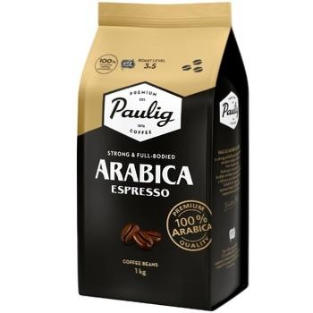 Paulig Arabica Espresso Coffee Beans 1kg