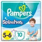 Трусики для плавання Pampers Splashers розмір 5-6 Junior 12-17кг 10шт