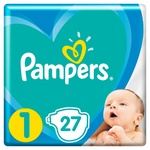 Подгузники Pampers Active Baby размер 1 Newborn 2-5 кг 27шт