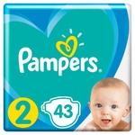 Підгузки Pampers Active Baby розмір 2 Mini 4-8 кг 43шт