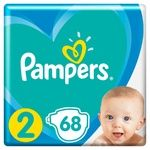 Підгузки Pampers Active Baby розмір 2 Mini 4-8 кг 68шт