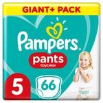 Подгузники-трусики Pampers Pants Размер 5 12-17кг 66шт