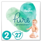 Pampers Pure Protection Mini Diapers 4-8kg 27pcs
