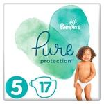 Підгузки Pampers Pure Protection Junior 11-16кг 17шт