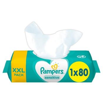 Cалфетки Pampers Sensitive 80шт