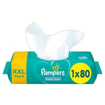 Cалфетки Pampers Fresh Clean 80шт