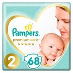 Подгузники Pampers Premium Care размер 2 Mini 4-8кг 68шт