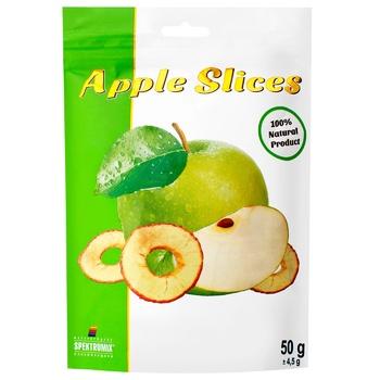 Слайси яблучні Spektrumix зелені 50г