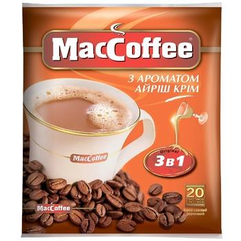 Напій кавовий MacCoffe Айриш Крiм 18г - купити, ціни на CітіМаркет - фото 1