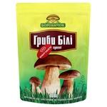 Mushrooms milk mushroom Borovychok white dried 100g Ukraine