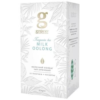 Бирюзовый чай Grace! Молочный Оолонг в пакетиках 25*1.5г