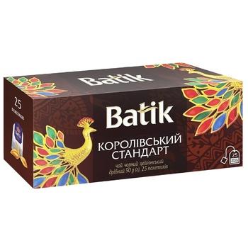 Чай черный Batik Королевский Стандарт 2г х 25шт