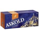 Черный чай Аскольд Классический байховый мелкий в пакетиках 25х1.75г