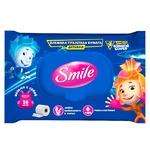 Туалетная бумага влажный Smile детский Фиксики 20шт