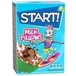 Start! With Milky Filling Grain Pillows Dry Breakfast 250g