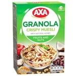 AXA Granola With Fruits And Nuts Crispy Muesli 375g