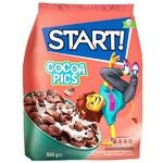 Start! Cocoa Pics Ready Grain Breakfast 500g
