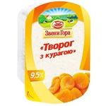 Сир кисломолочний Звени Гора з курагою 9.5% 200г