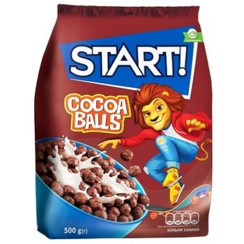 Start! Cocoa Balls Ready Cereal Breakfast 500g - buy, prices for EKO Market - photo 1