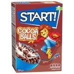 Start! Cocoa Balls Grain Dry Breakfast 250g