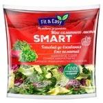 Микс салатных листьев Fit & Easy Smatr 140г