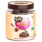 Lolo Pets Classic with Chocolate Flavor for Dogs Biscuits 210g
