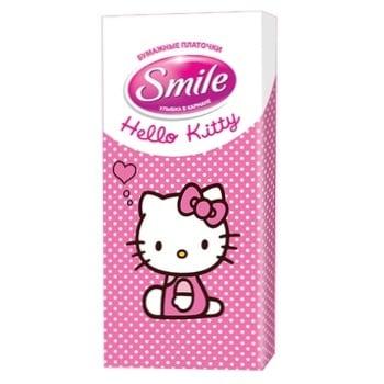 Хустинки гігієничні Smile 10шт