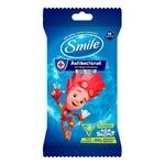 Салфетки влажные Smile Фиксики антибактериальные 15шт