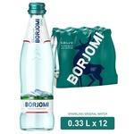 Вода Borjomi мінеральна газована скло 0,33л