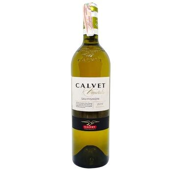 Calvet Varietals Sauvignon White Dry Wine 12% 0,75l - buy, prices for CityMarket - photo 1