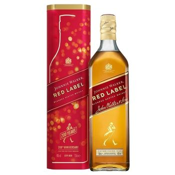 Johnnie Walker Red Label Whisky 40% 0,7l - buy, prices for Auchan - photo 2