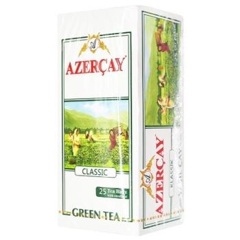 Чай Азерчай зелений 25шт х 2г - купити, ціни на ЕКО Маркет - фото 1