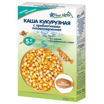 Fleur Alpine Dairy-Free Hypoalergenic Corn With Prebiotics For Children From 5 Months Porridge 175g
