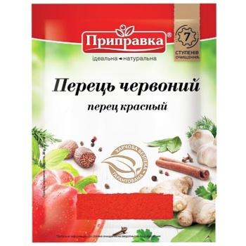 Перець червоний мелений Pripravka 20г - купити, ціни на CітіМаркет - фото 1