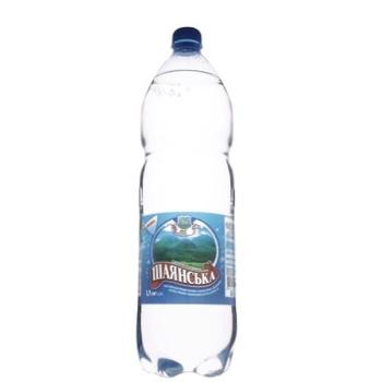 Вода Шаянська минеральная сильногазированная 1,5л