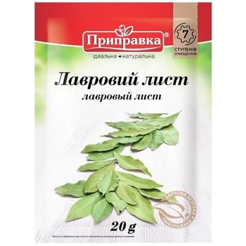 Лавровий лист Pripravka 20г - купити, ціни на CітіМаркет - фото 1