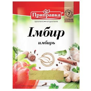 Pripravka ground ginger spices 10g - buy, prices for EKO Market - photo 1