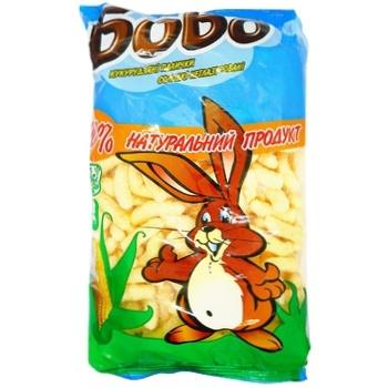 Палички кукурудзяні Бобо солодкі 200г