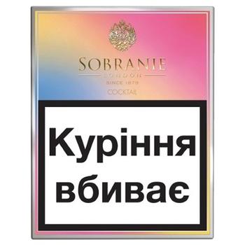 Сигареты Sobranie Laube Cocktail - купить, цены на СитиМаркет - фото 1