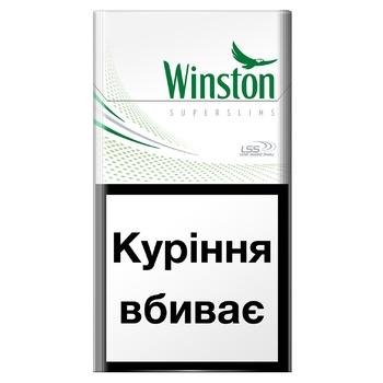 Cigarettes Winston Fresh Menthol Super Slims - buy, prices for CityMarket - photo 1