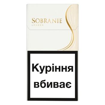 Сигареты Sobranie White Super Slims - купить, цены на СитиМаркет - фото 1