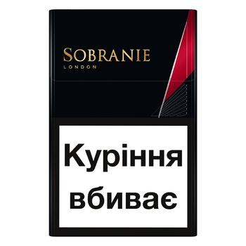 Сигареты Sobranie КS SS Blacks - купить, цены на СитиМаркет - фото 3