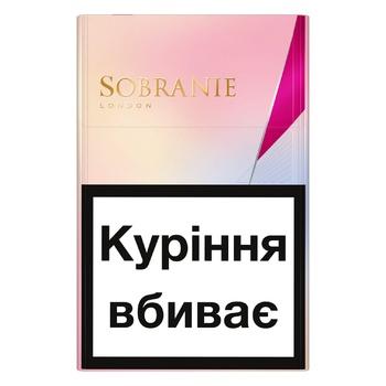 Sobranie KS Super Slim Golds Cigarettes - buy, prices for EKO Market - photo 1