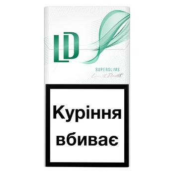 LD Menthol Cigarettes - buy, prices for CityMarket - photo 1