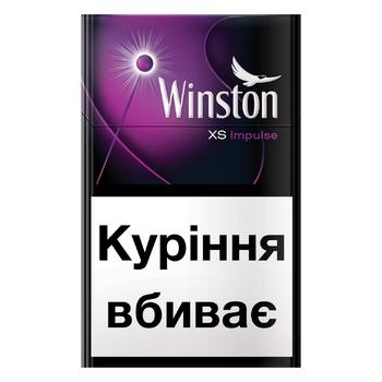 Цигарки Winston XS Impulse - купити, ціни на CітіМаркет - фото 1