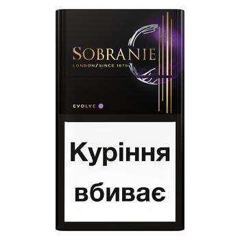 Цигарки Sobranie Evolve - купити, ціни на ЕКО Маркет - фото 1